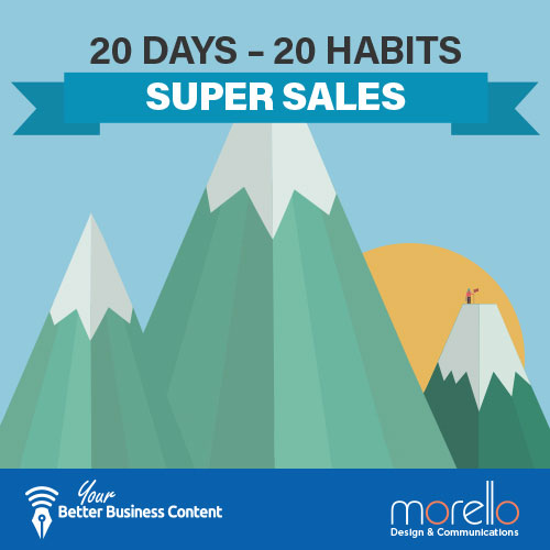 Training Presentation: 20 Days – 20 Habits – Super Sales